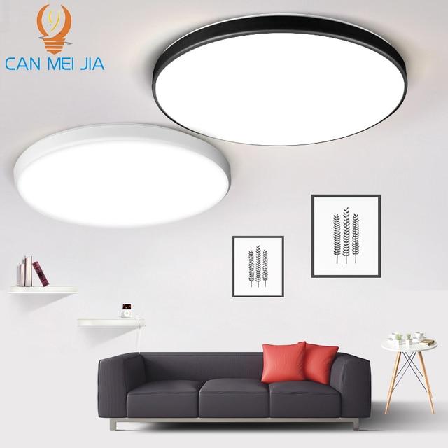 Led Ceiling Lights 15/20/30/50W Ceiling Lamps Lighting 220V Ultra Thin LED Panel Light Fixtures for Living Room Bedroom Kitchen