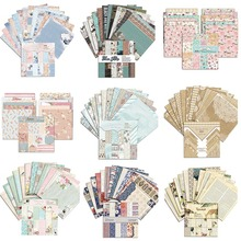 6*6 Inch 12 Patterns/Set  Craft Pattern Paper For Scrapbooking Background Decoration Paper Pad Cardstock Making DIY Scrapbooking pd045 100pcs 5 5 inch total colored vintage lace round green paper doilies paper scrapbooking craft doily paper mats paper pads