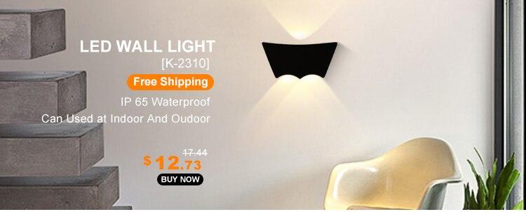 luz da parede moderna à prova dwaterproof