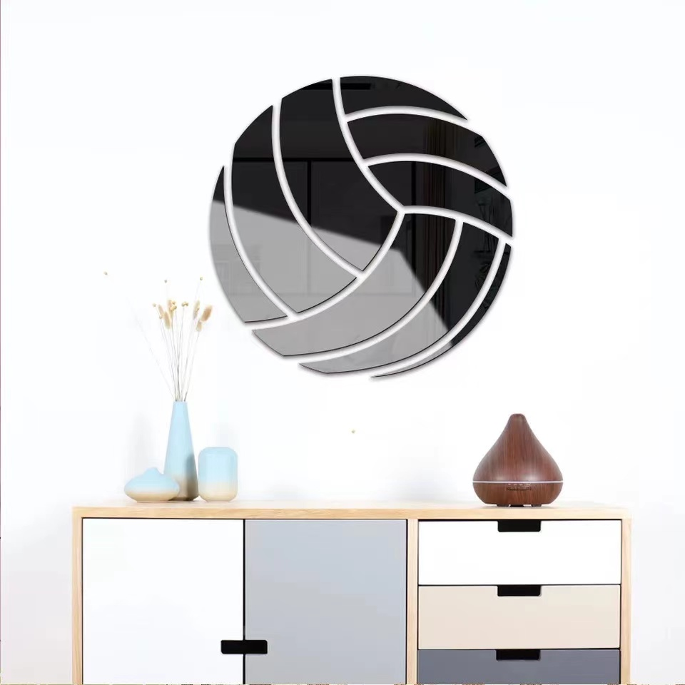 Black Volleyball