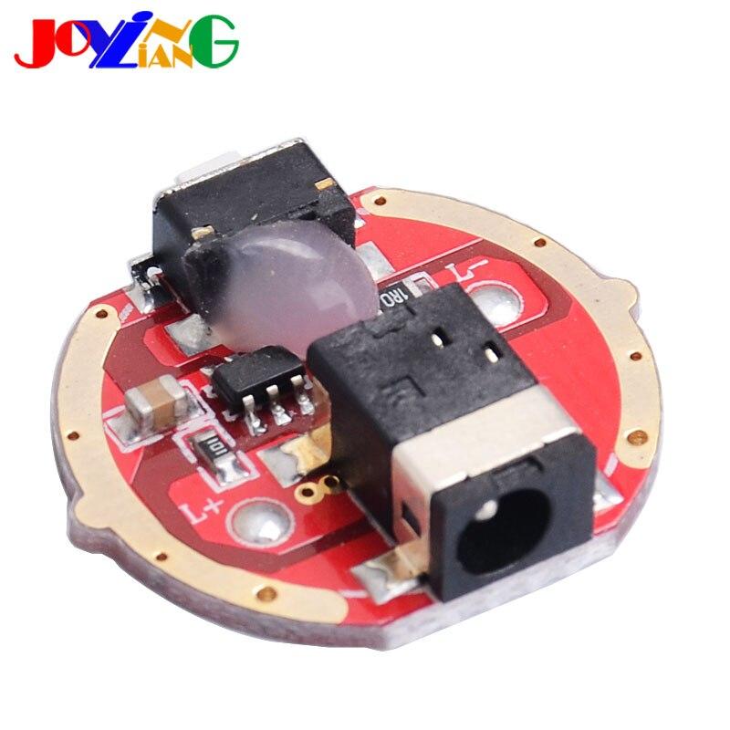 JYL3014 devre 3 modu 3.7V orta anahtarı ile şarj portu el feneri LED sürüş plakası 5W çapı 21mm