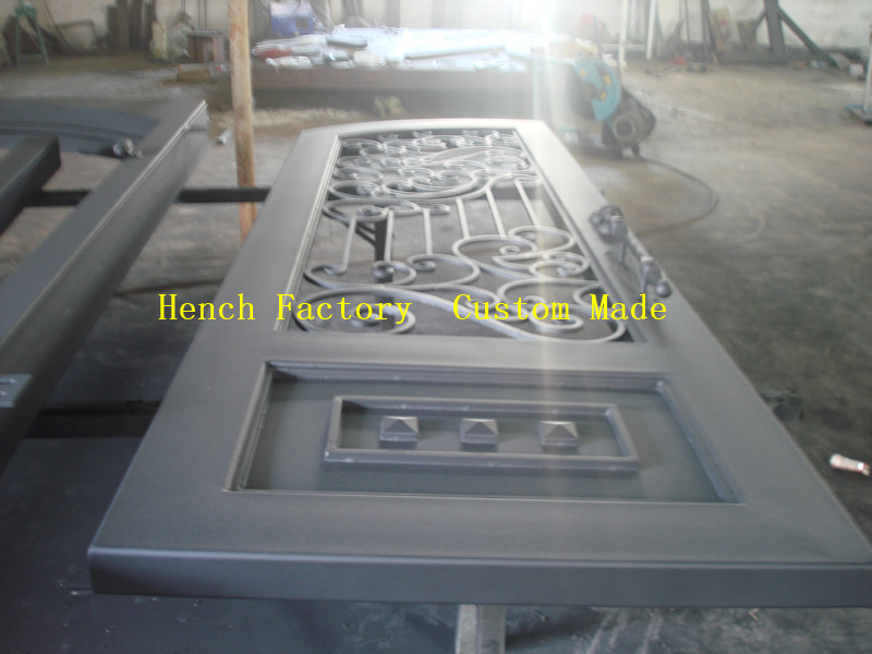 Shanghai Hench Brand China Factory 100% Custom Made Sale Australia Iron Doors For Sale Near Me