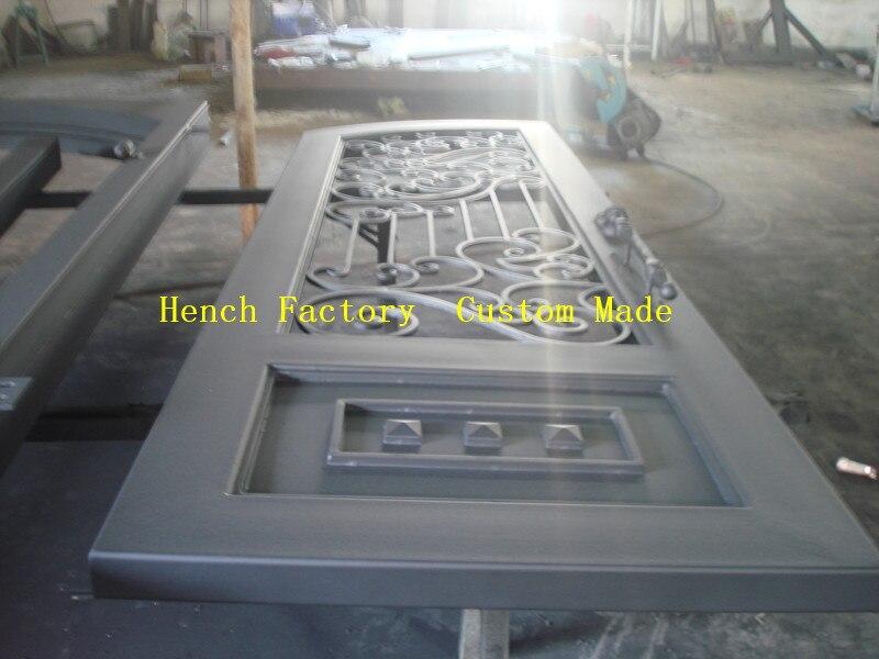 Shanghai Hench Brand China Factory 100% Custom Made Sale Australia Iron Doors For Sale Near Me