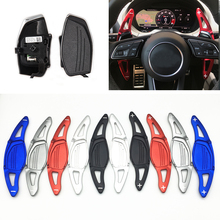 Steering Wheel Paddle shift Car Shift extension for Audi RS3 RS4 RS5 2017 2018 R8 TT RS 2016