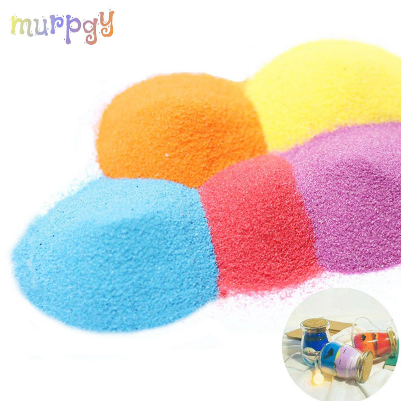 100g/bag Colorful Not Wet Magic Sand Indoor Play Slime Space Sand For Kids Educational Toys Funny Toy For Children Kids Gifts