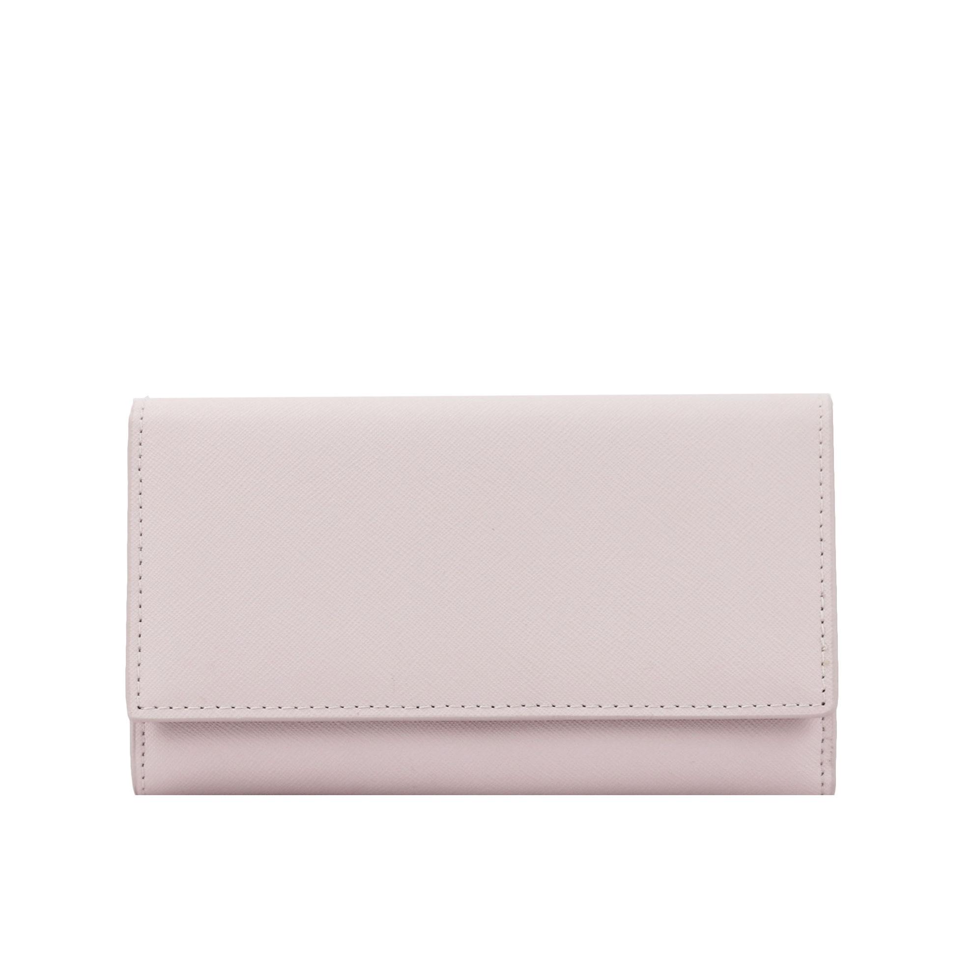 New Genuine Saffiano Leather Wallet Femal 2020 Fashion Women Clutch Purse Clip Wallet Designer Ladies Purse Card Holder Coin Bag