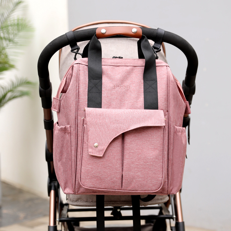 Multi-functional Mummy Bag Large Capacity Waterproof Oxford Cloth Light MOTHER'S Bag For Both Men And Women Practical Versatile