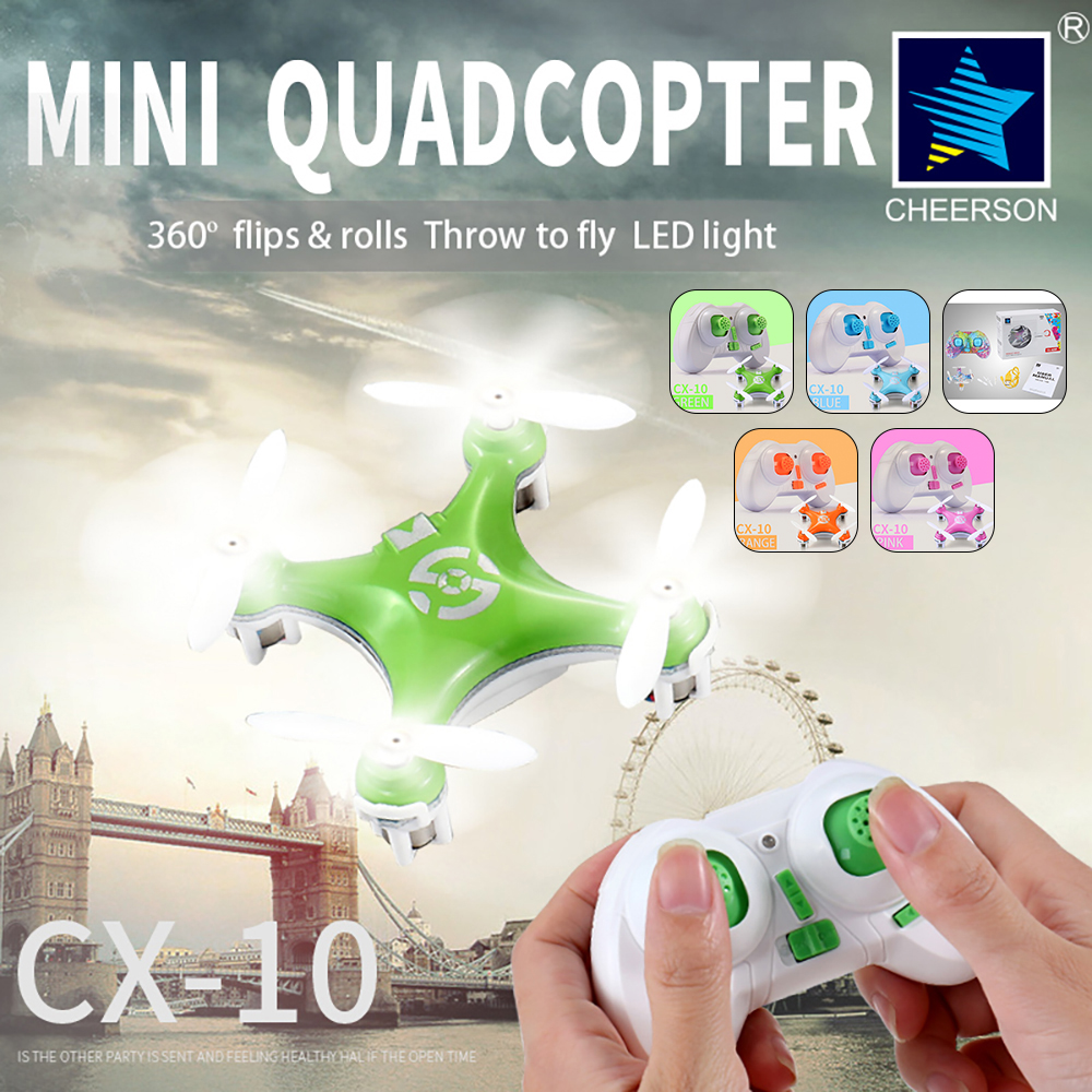 H844a0d3e82aa4b80a42c64348511bf3bE - Original Cheerson CX10 CX-10 CX10 Mini Drone 2.4G 4CH 6 Axis LED Remote Control Quadcopter Toy CX10 CX-10 Mini Drone
