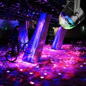 Image 4 - RGB LED para fiesta, luz de discoteca de efecto, lámpara láser de escenario, proyector RGB, lámpara de escenario, música, KTV, festival, Fiesta, lámpara LED, luz de dj