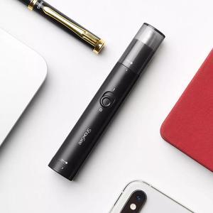 Image 2 - Youpin ShowSee C1 BK 휴대용 전기 코 헤어 트리머 탈착식 워셔블 더블 에지 360 ° 회전 커터 헤드