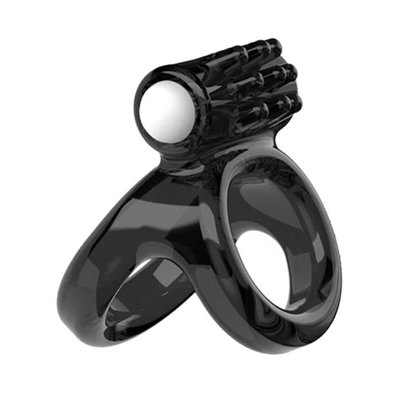 คู่แหวนอวัยวะเพศชาย Vibrator Cock Cam Delay Ejaculation ชายของเล่นสมาชิกแหวนอัณฑะ Clamps Scrotum Bondage Intimate Goods
