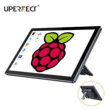 UPERFECT UPi06 Max 10 pouces étui à écran tactile pour framboise Pi moniteur Portable framboi 3 4 USB C écran HDMI framboise 3 Kit