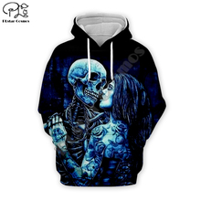 Jack Skelling print Men 3d Hip pop Hoodies skull body Halloween women Sweatshirt tshirt pullover Christmas Corpse Bride Sally 01