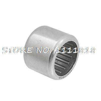 15 X 20 X 16mm HK152016 Caged Drawn Cup Needle Roller Bearing Silver Tone