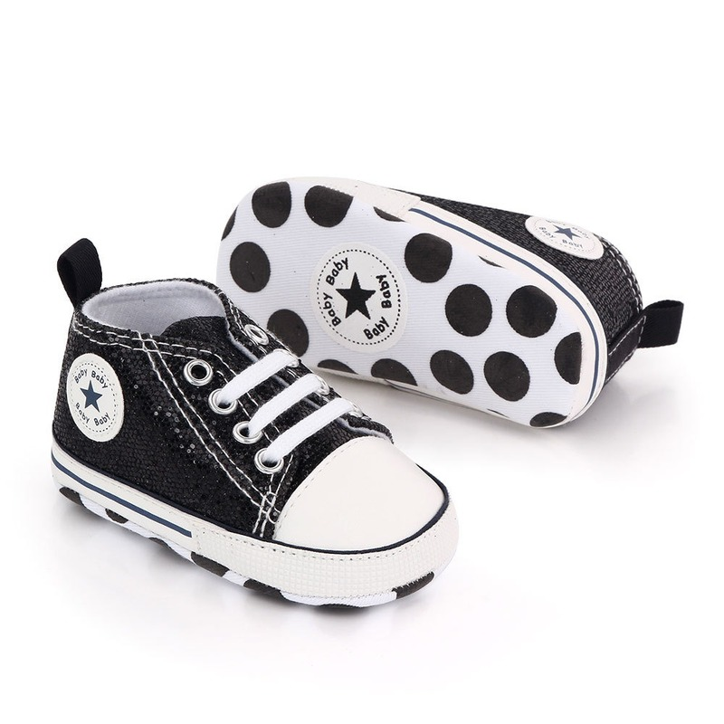 Shiny Upper Baby Shoes Moccasins Soft Sole Infant Girls Boys Sports Shoes Toddlers First Walkers 2020 Newborn Baby Prewalkers 2