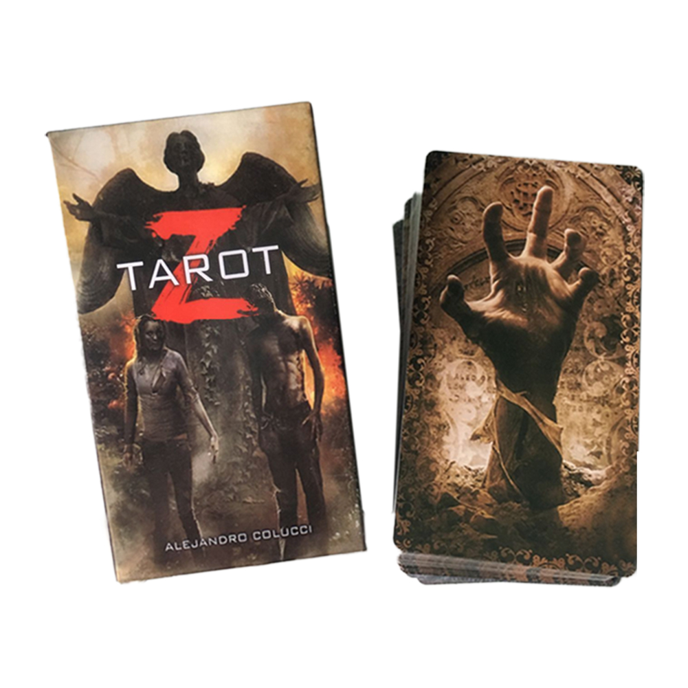 78 Pcs English Tarot Deck And Tarot Cards For Family Party Games Playing Card Entertainment Board Table Game