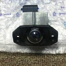 31201009 الأصلي سيارة الخلفي الذيل غطاء لوحة ترخيص مقبض كاميرا عكس احتياطية وقوف السيارات ل فولفو S80 XC90 XC70 اكسسوارات