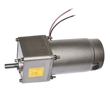 DM09-5GN 120W High Speed DC Electric Gearbox Permanent Magnet Motor High Torque DC Gear Motor 12V 24V 90V 16-1066RPM Big Torque цена в Москве и Питере