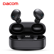 DACOM מקורי U7 TWS אמיתי אלחוטי אוזניות אוזניות Bluetooth אוזניות 5.0 אוזניות אוזניות עם LED תצוגה עבור טלפונים