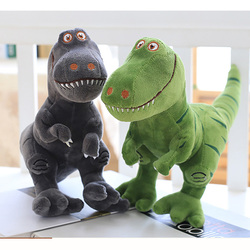 Boneco de pelúcia de dinossauro, brinquedo infantil de alta qualidade de animais macios ctton para presente