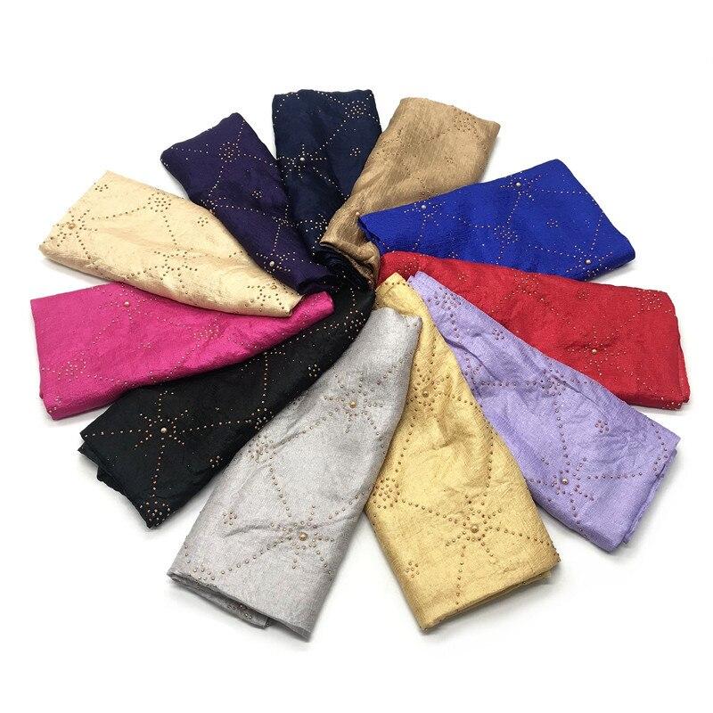 Line Pattern Flower Lady Women Soft Scarf Scarves Shawl HeadWrap Headscarf Stole