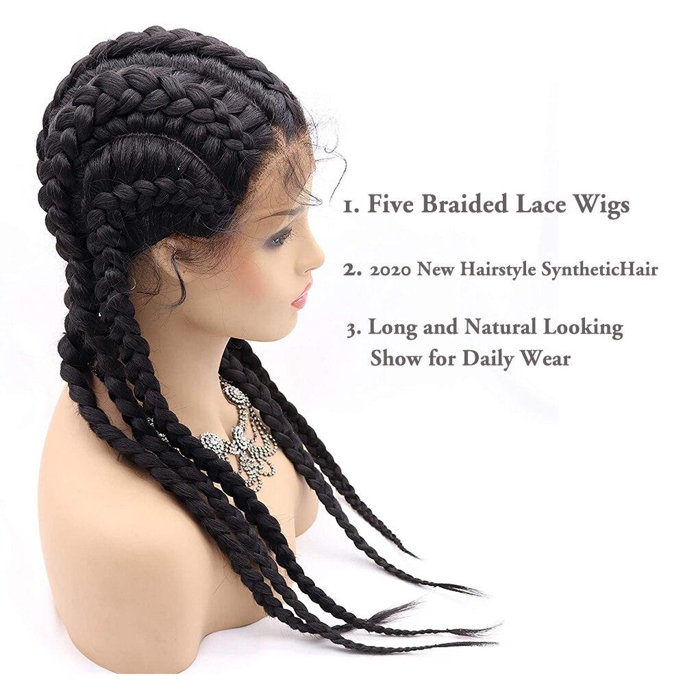 Box Braided Wig 3