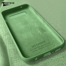 ZROTEVE Liquid Silicone Cover For Samsung Galaxy S10 S9 S8 Plus Note 1
