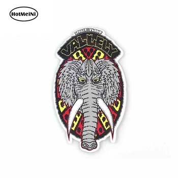 HotMeiNi 13cm x 7.4cm For Street Plant Vallely Mammoth Wrap Sticker Vinyl Decal Sticker Car Truck Pinup Car Assessoires image