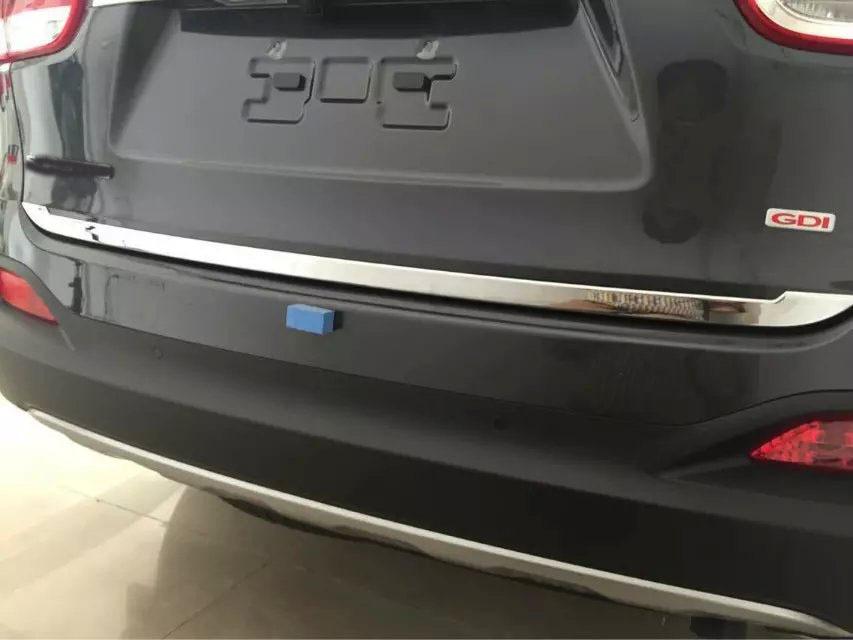 Chrome Fuel Door Cap Cover Garnish Molding B357 For KIA 2015-2017 Sorento UM