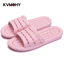 Shoes Woman Home Slippers Unisex Black Slides Men Women Summer Slipper Bathroom Flat Sandals Indoor Female Casual Mules(China)