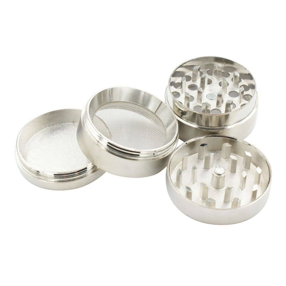 4-layer Aluminum Herbal Herb Tobacco Grinder Smoke Grinders Smoking Pipe Accessories Smoke Cutter Kitchen Accessories