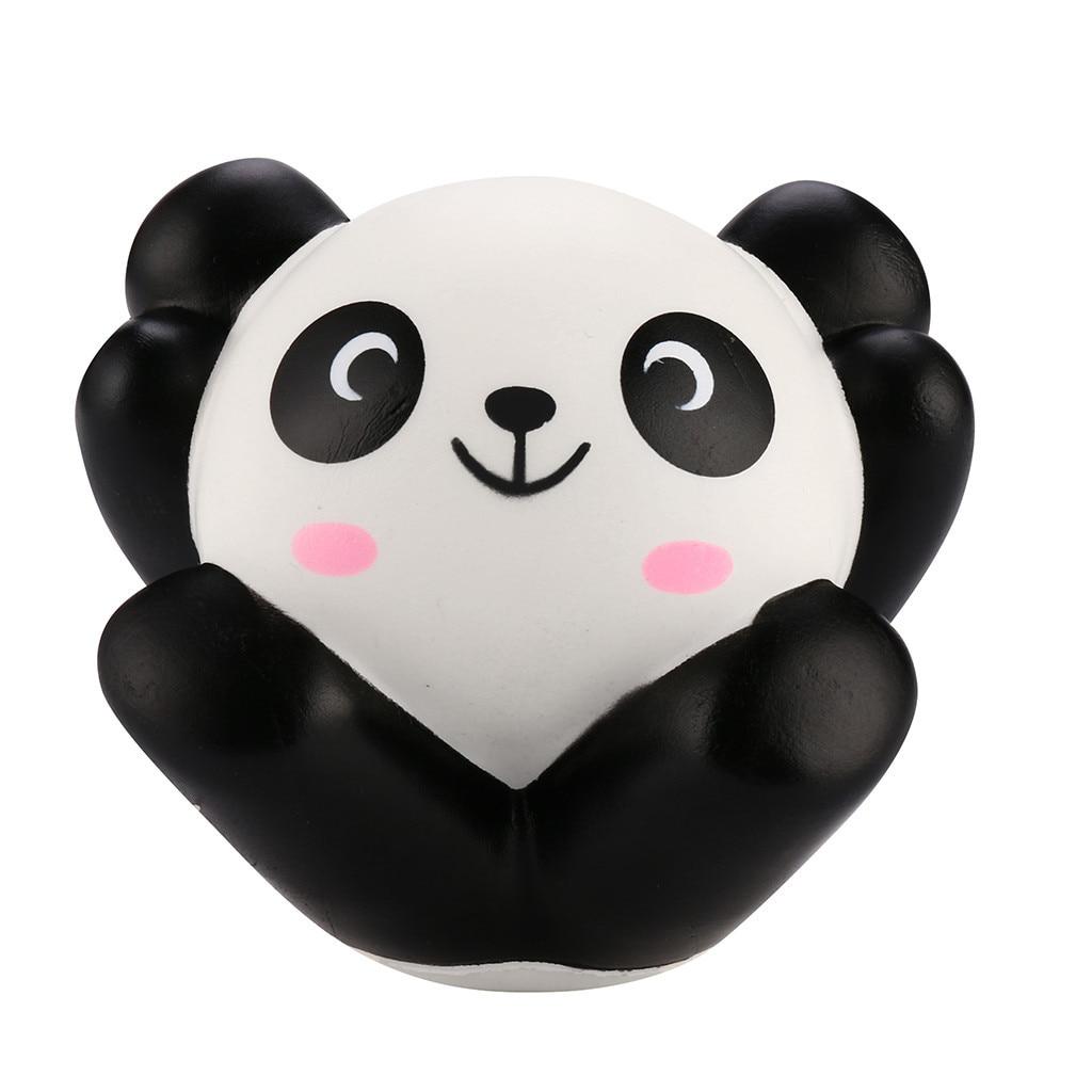 Kawaii Panda Slow Rising Toy  Kids Toy Stress Reliever Decor Animal Noverty Toys Funny Gadgets Anti Stress Kids Toys Doll #B