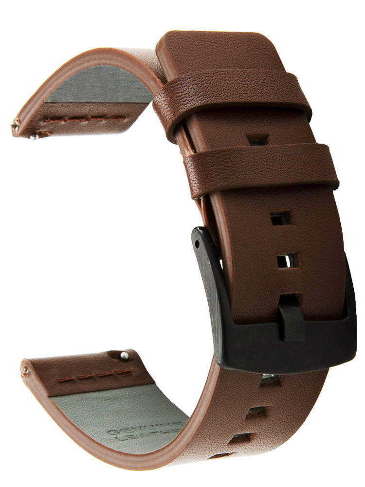 Band-Strap Watch 46mm-Gear Quick-Release 24mm-Z26 Sport Samsung Genuine-Leather for Galaxy