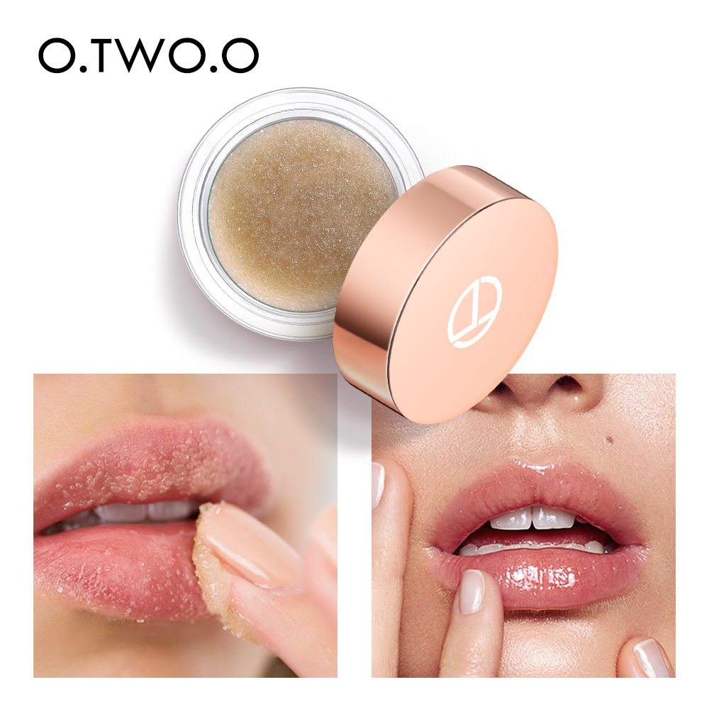 O.TWO.O Moisturizing Lip Balm Lip Scrub Makeup Anti Aging Exfoliating Full Lips Remove Dead Skin Nourishing Lips Care