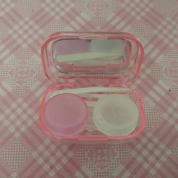 Soczewki kontaktowe L + R walizki zestaw uchwytów do przechowywania moczenie pojemnik akcesoria podróżne produkt do pielęgnacji oczu sprzedaż hurtowa tanie i dobre opinie Brak elektryczne