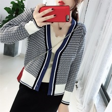2019 New Style All-in-the-ground Woolen Sweater Air-conditioning Sweaters Large-size Thin Long-sleeved Coat
