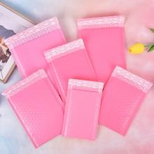 10шт +% 2FLot розовый бумага пузырь набивка почтовые отправители конверты подарок сумка пузырь почтовая рассылка конверт сумка упаковка доставка сумки почтовая рассылка сумки