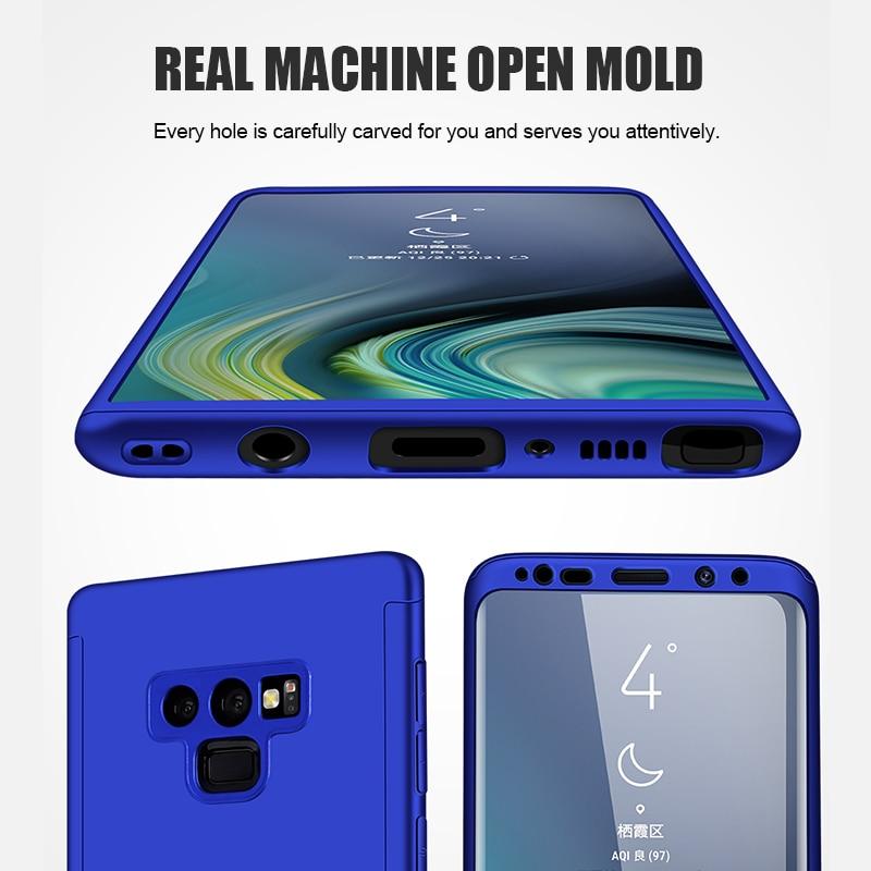 Funda completa para teléfono Samsung Galaxy, carcasa 360 a prueba de golpes para Samsung Galaxy S10, S9, S8 Plus, S20, A50, A51, Note 10 Plus, 8, 9 4
