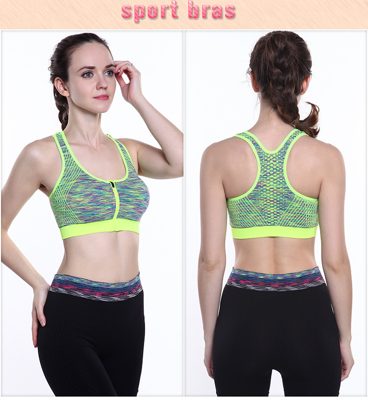 Yoga Without Steel Ring Fitness Sports Bra For Women