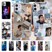 Yndfcnb tom holland caso de telefone para iphone 8 7 6s plus x 5S se 2020 xr 11 12 mini pro xs max