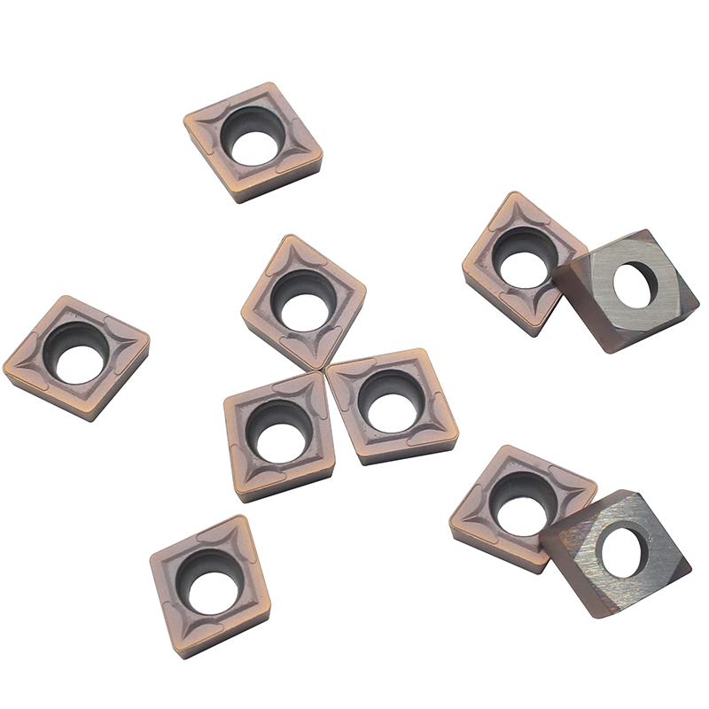 100PCS CCMT09T308 VP15TF Carbide inserts CCMT 09T308 Internal Turning Tools Cutting Tool CNC Lathe cutter