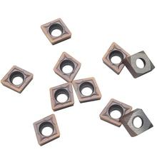 100PCS CCMT09T308 VP15TF Carbide inserts CCMT 09T308 Internal Turning Tools Cutting Tool CNC Lathe cutter