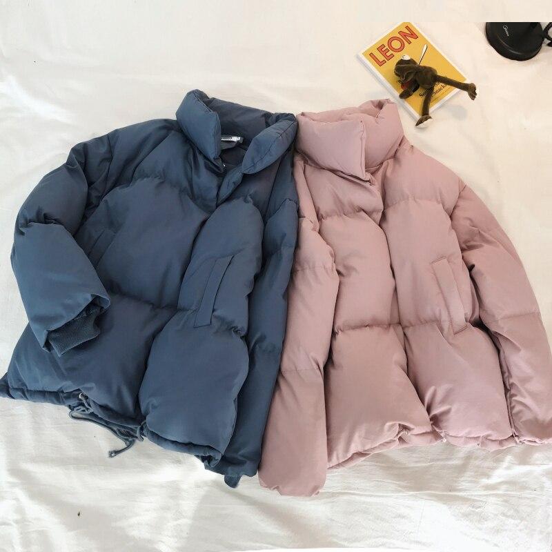Зимняя куртка, Мужская теплая утепленная парка, Мужская модная однотонная Повседневная куртка со стоячим воротником, Мужская свободная