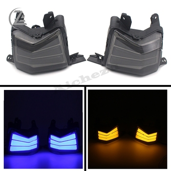 цена на ACZ Motorcycle Scooter Parts LED Turnlamp Front Turn Signal Light for YAMAHA N MAX NMAX 125 155 NMAX125 NMAX155 N MAX155 NMAX125