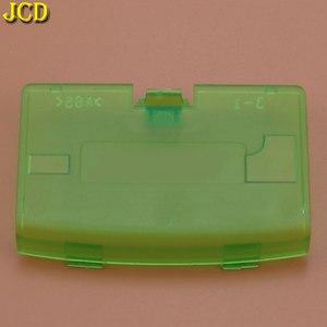Image 4 - JCD 1 шт., Крышка батарейного отсека для Nintendo Gameboy Advance, замена крышки двери, Игровая приставка, чехол для задней двери GBA