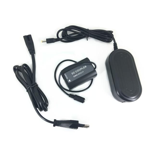 AC חשמל מתאם + BLK22 Dummy סוללה להחליף DMW DCC17 מצמד ערכת מטען עבור Panasonic Lumix S5 DC S5 DC S5K מצלמה