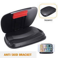 범용 자동차 대시 보드 전화 홀더 크래들 스탠드 미끄럼 방지 마운트 GPS 자동차 인테리어 액세서리에 적합