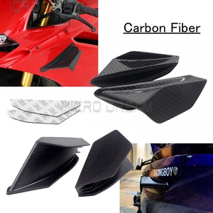 Supersport Scooter Fairing Spoiler Winglets For Ducati Panigale V4/V4S V2 RSV4 899 959 1199 1299 BMW Aero Dynamic Small Wing Kit