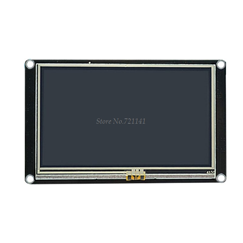 """Para 4,3 """"Nextion HMI pantalla táctil de resistencia mejorada pantalla LCD puerto serie USART venta al por mayor y envío directo"""
