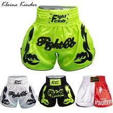 Мужские шорты для бокса одежда ММА Муай Тай кикосин занятий